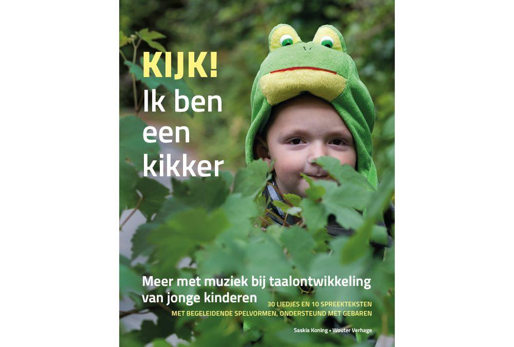 Boek 'Kijk ik ben een kikker'